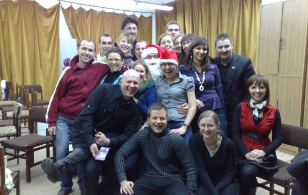Wigilia 2009 i wizyta Mikołaja (21 grudnia 2009 r.)