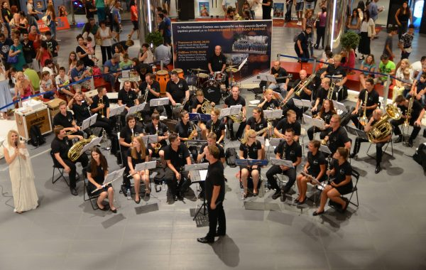 19. International Youth Band Festival - koncert towarzyszący w centrum handlowym w Salonikach (sierpień 2016 r.)