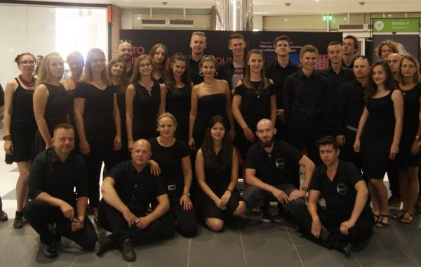 21. International Youth Band Festival - grupowe zdjęcie po koncercie (sierpień 2018 r.)