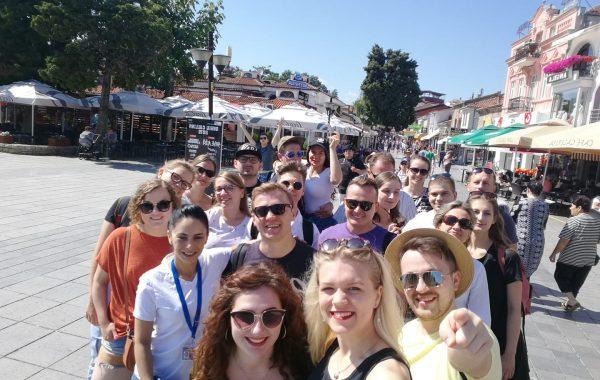 Zwiedzanie Ochrydy podczas Festiwalu Folklorystycznego w Macedonii (lipiec 2019 r.)