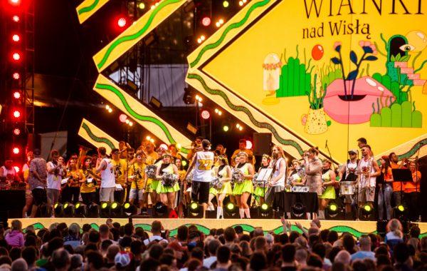 Koncert podczas Wianków nad Wisłą w Warszawie (22 czerwca 2019 r.)