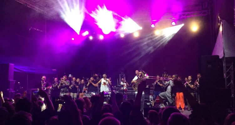 Koncert w ramach projektu REBEL BABEL podczas festiwalu Kazimiernikejszyn