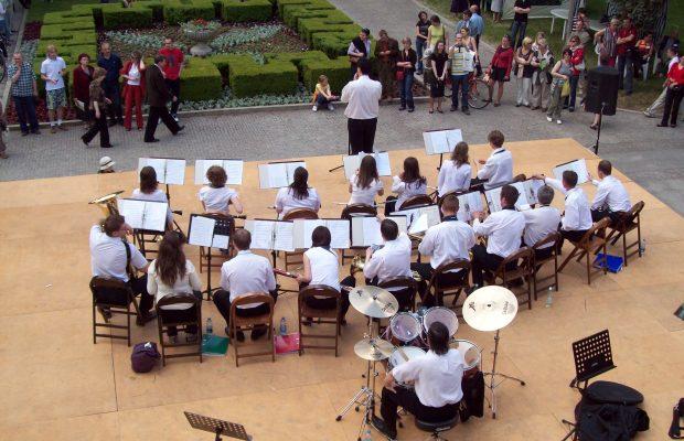 Pierwszy koncert Orkiestry podczas Dni SGGW 2008 (16 maja 2008 r.)