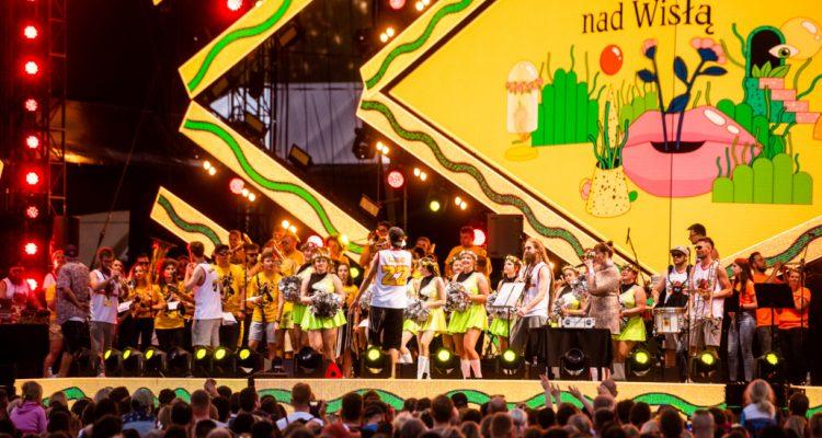 Koncert podczas Wianków nad Wisłą w Warszawie