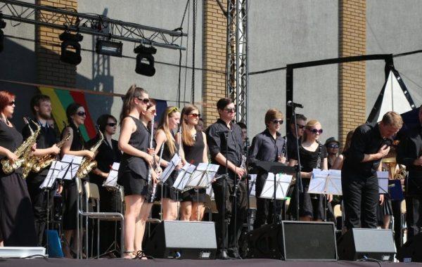 Koncert podczas XIII Europarady Orkiestr Dętych w Suchowoli (5 lipca 2015 r.)