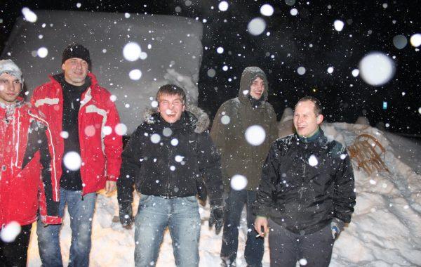 Na śniegu podczas wyjazdu zimowego 2012 - Kiry (luty 2012 r.)