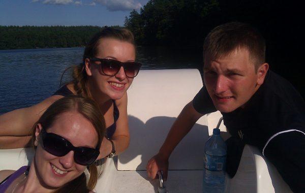 Rekreacja na jeziorze, wyjazd letni, Waplewo (sierpień 2013 r.)