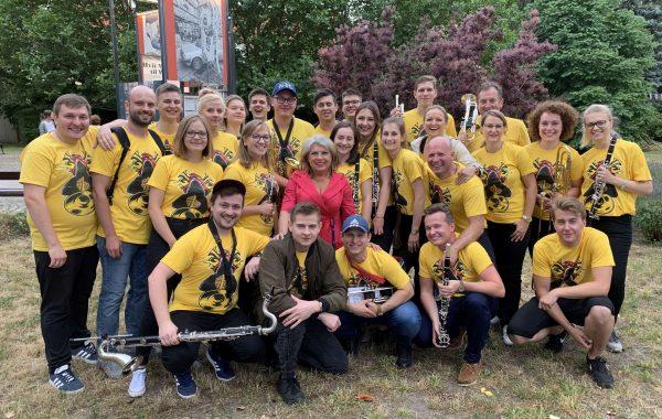 Wspólne zdjęcie z Krystyną Prońko po koncercie podczas Freedom Festival (6 lipca 2019 r.)