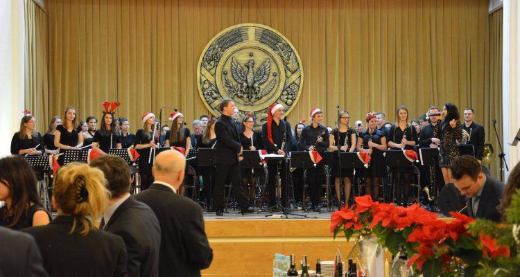 Koncert świąteczny podczas spotkania wigilijnego Radców Rolnych Ambasad