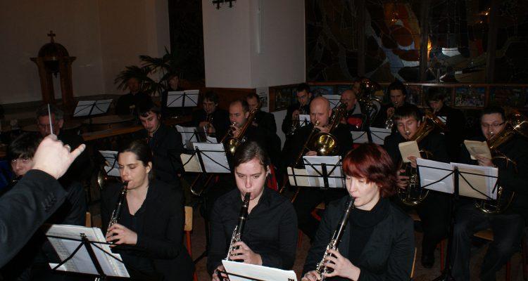 Koncert w kościele w Zakopanem podczas zimowego obozu muzycznego