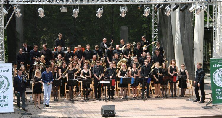 200-lecie SGGW – SGGW w Łazienkach Królewskich